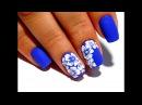 ТОП удивительный дизайн ногтей. Маникюр гель лаком. Объемные цветы
