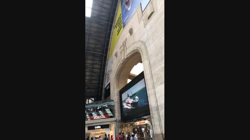 Милан вокзал 2018
