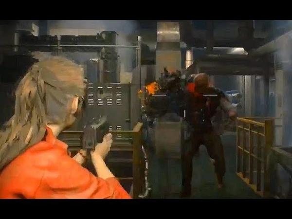 Resident Evil 2 Remake - 10 Minutes of New Gameplay Walkthrough (2018)