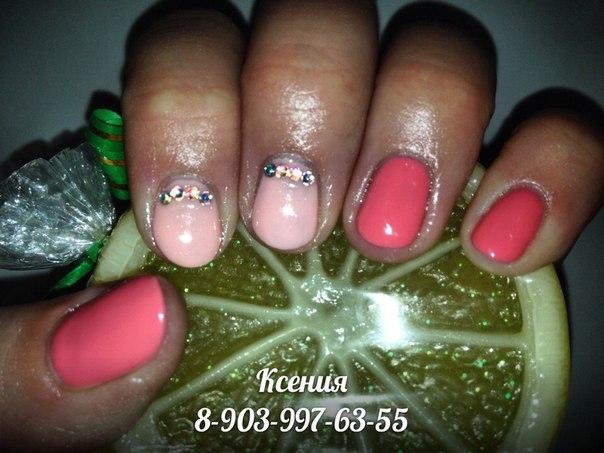 Красивые ногти шеллак