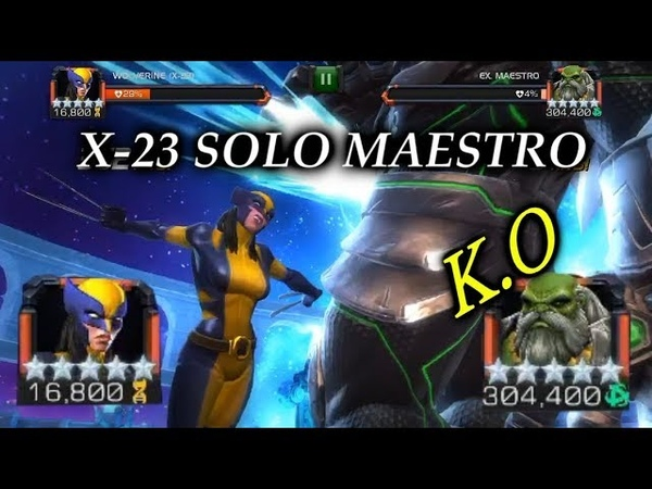 X-23 SOLO's Labyrinth Maestro! - Marvel Contest Of Champions