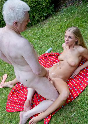 Lush elder mommy With youthfull man