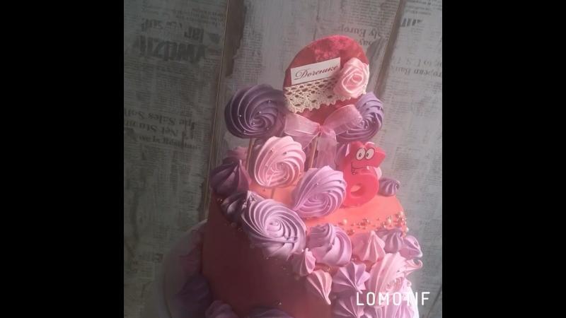 Девчачий тортик