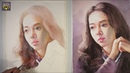 Beautiful Girl Portrait Painting in Watercolor - Advanced level