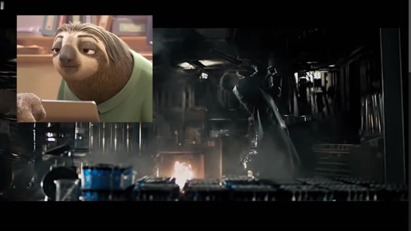 Max Pain VS Ленивец из Зверополиса