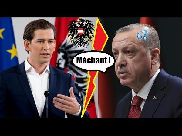 ERDOGAN en sueur LAutriche va expulser jusquà 60 imams liés à la Turquie et fermer 7 mosquées