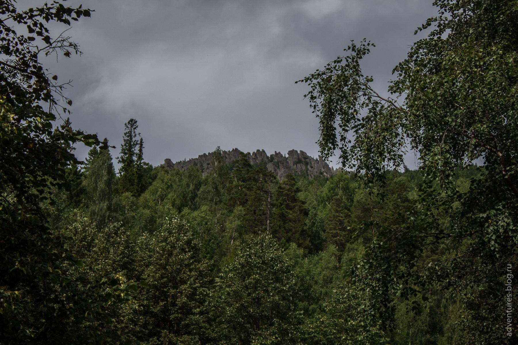 Вершина Перья с приюта Белый ключ