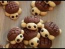 Забавные печенье черепашки.Funny bug turtle biscuits