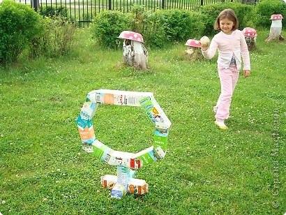 Игры из бросового материала своими руками для детского сада