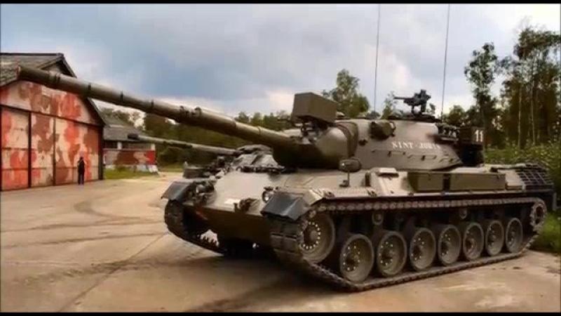 неизвестный полёт танка
