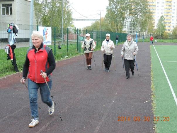Эстафета в День пожилого человека
