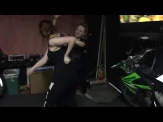 Girl fight Hailey vs Jena