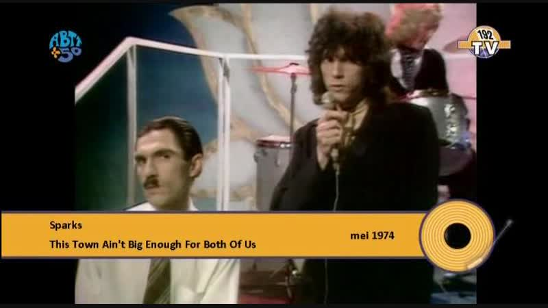 Sparks. This Town Aint Big Enough For Both Of Us (1974) (192 TV)