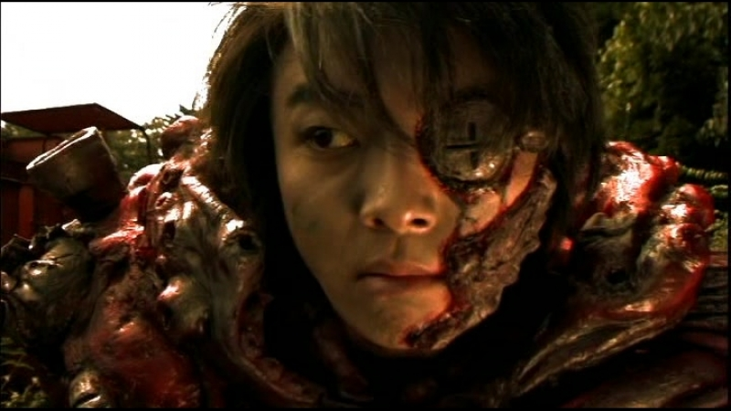 Мясорубка / Meatball Machine / Mitoboru mashin (2005) dir. Yûdai Yamaguchi, Jun'ichi Yamamoto