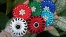 147 DIY Tutorial Cara Membuat Bros Ubur Ubur Mutsin How to Make Pearly Flower
