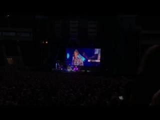 Ed Sheeran концерт в Варшаве 2018