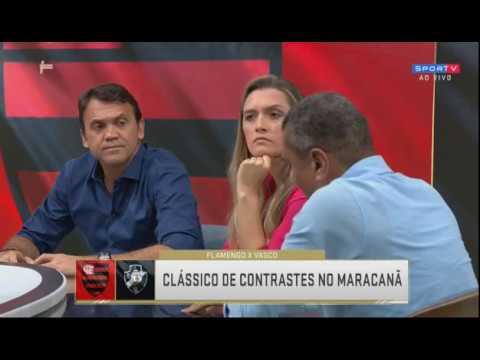 O clássico dos contrastes Flamengo e Vasco Debate questiona a situação critica do time cruzmaltino