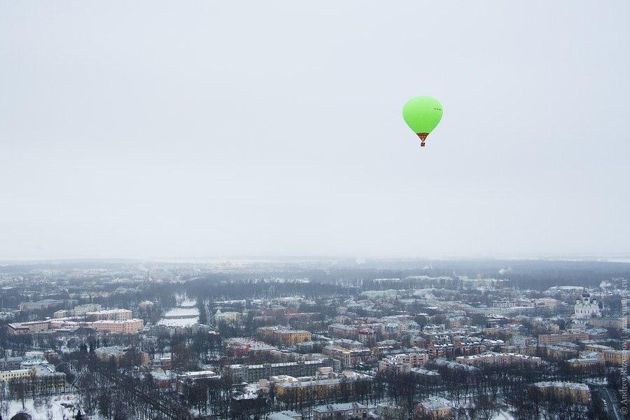 воздушный шар горелка гондола полет Санкт-Петербург Пушкин