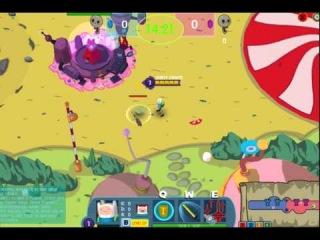 Игра Время Приключений (Adventure Time Battle Party)