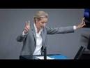 So rockte, Dr. Alice Weidel AfD, 2018 den Bundestag.