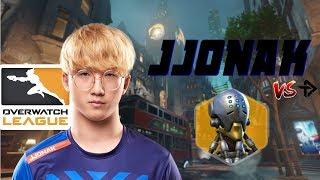 JJoNak Zenyatta gameplay - Excelsior vs. Defiant POV [Overwatch League]