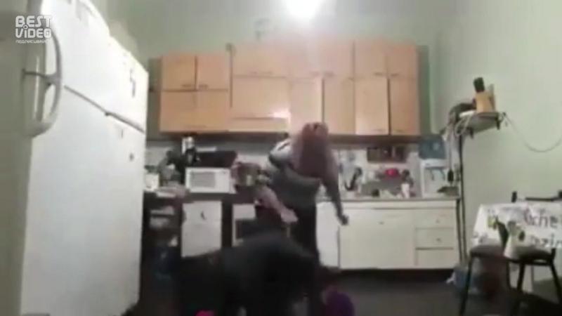 Когда переборщил на кухне