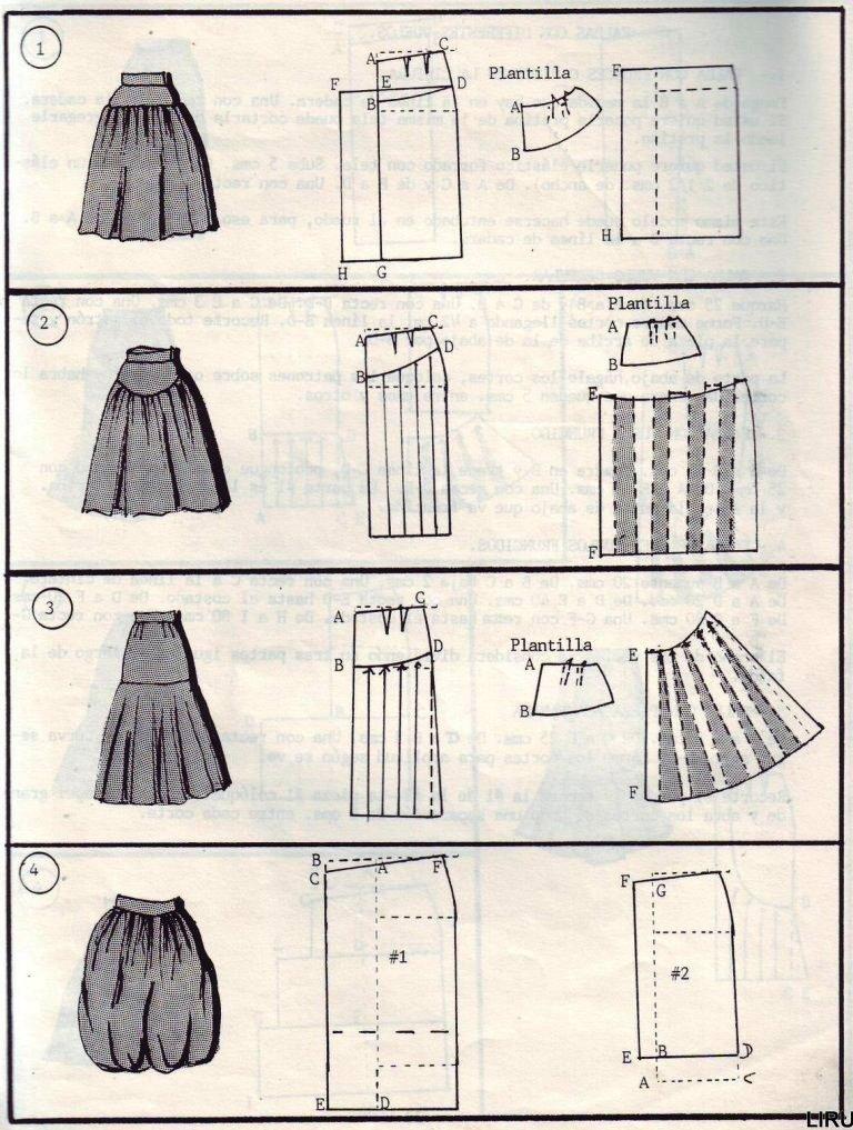переделка одежды юбки в сарафан