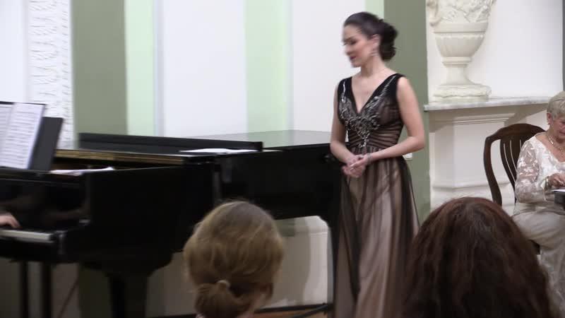 Екатерина Смолина - Ария Виолетты (Травиата. Дж. Верди).