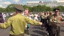 Бал Победы в Останкино перед телебашней Москва 7-05-2019