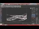3D Tutorial Modeling Triply Twisted Torus With Holes 3dsmax