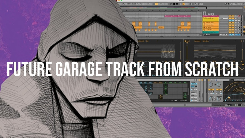 Making A FULL Burial Style Future Garage Track Start To Finish [Project File]