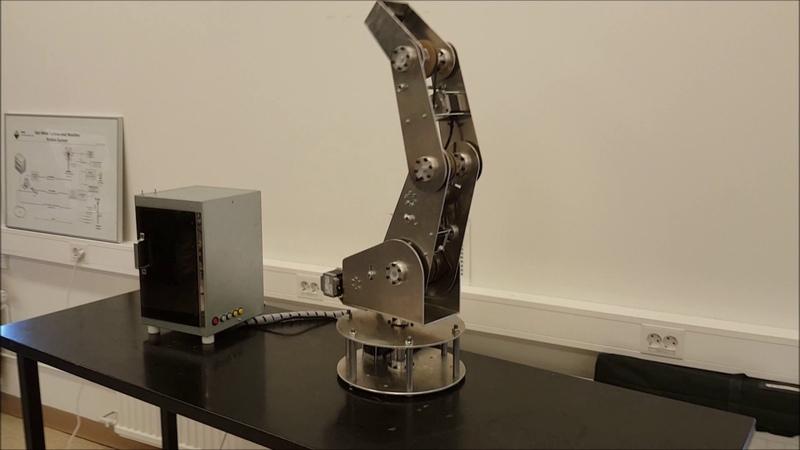 Grettir - 5 axis robotic arm
