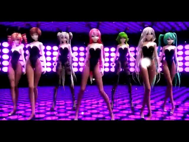 【MMD】Mr. Taxi【Bunny Luka, Miku, Teto, Neru, IA, Maika, Gumi, Haku, Meiko】