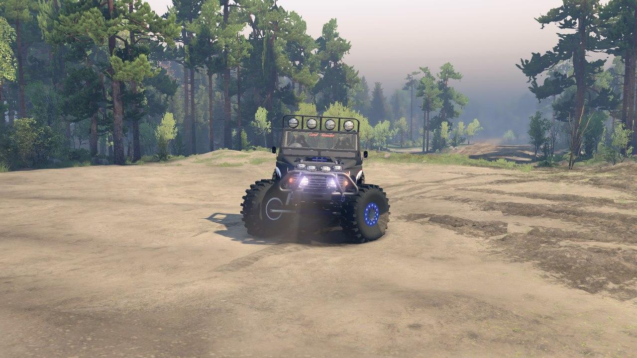 Land Krawler 1.0 для Spintires - Скриншот 2