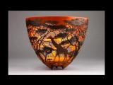 Резьба по дереву. Кружевные вазы Gordon Pembridge