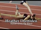 Удивительная спортсменка Хизер Дорниден выиграла гонку в 2008 году после страшного падения