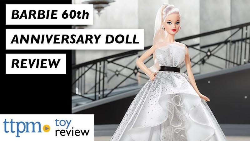 ОБЗОР куклы Barbie 60th Anniversary Doll from Mattel