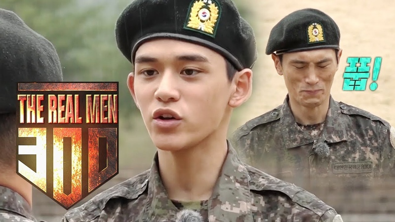 Lucas This place isn't a joke! I will do my best! [The Real Men 300 Ep 9]