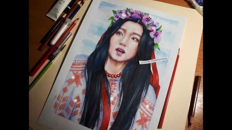 Red Velvet | IRENE [Crossing Cultures] drawing (by Elena Martynyuk)