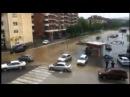 За каких то несколько минут полностью затопило г.Добой в Республике Сербской (БиГ) Doboj poplava,snimio Ozren Stakić