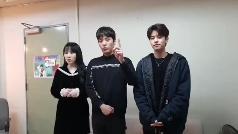 [фейсбук] 181106 Пак Джимин (15), Хиджун и Сынмин @ After School Club