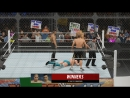 Odor and Beejn vs Jenkins and O`Leary WWE 2K16
