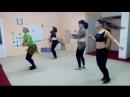 эстрадный танец в процессе изучения