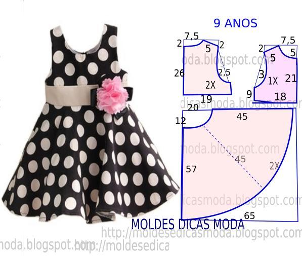 Шьем праздничное платье для девочки