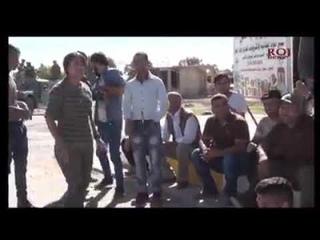 Члены партии ДПК (так называемая старая администрация) пытались поговорить с езидами Шангала, Розговор не вышел. Пришлось опять бежать на гору. На данный момент люди продолжают блокировать все административные здания в регионе