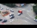 ДТП Бийск на перекрёстке ул. Ленина - Мопровский.