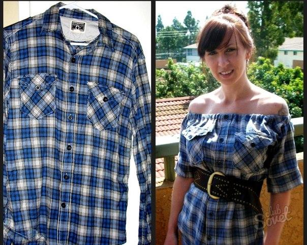 Что сделать из старых рубашек своими руками фото