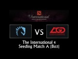 Liquid vs LGD - TI4 Seeding Match A (Bo3)