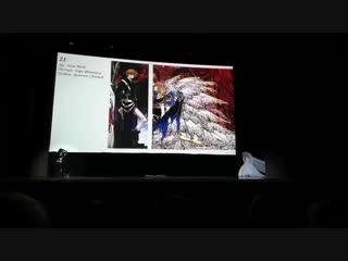 Agi & Naya Michi - Всероссийский конкурс косплея 2018 J-fest  Tsubasa: Reservoir Chronicle / Syoran Li & Princess Sakura