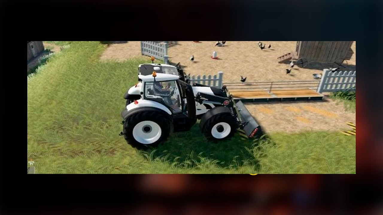 уборка курятника в в Farming Simulator 19